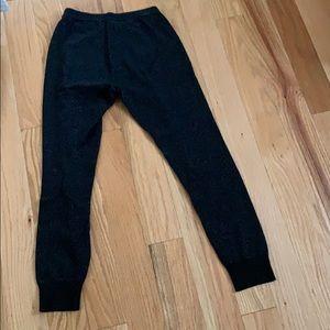 Gap black jogger leggings!!